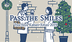 土屋鞄 PASS THE SMILES